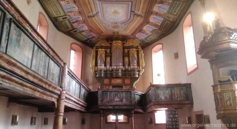 Bretten Kreuzkirche Innenansicht II