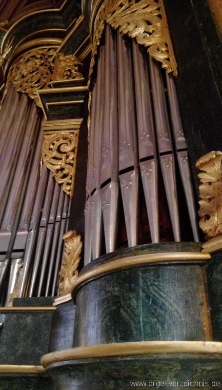 Bretten Kreuzkirche Orgelprospekt I