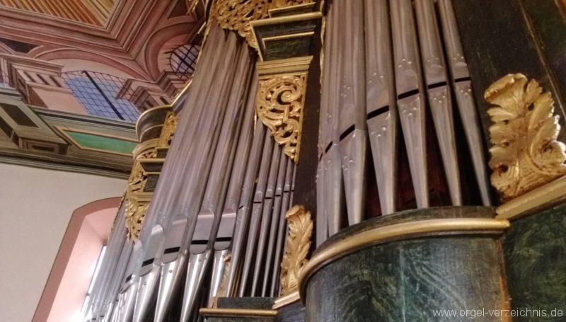Bretten Kreuzkirche Orgelprospekt II