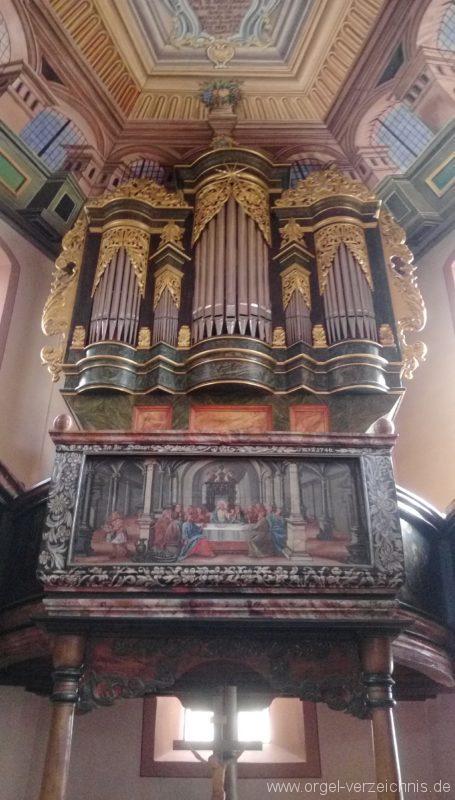 Bretten Kreuzkirche Orgelprospekt III