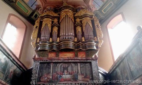 Bretten Kreuzkirche Orgelprospekt IV