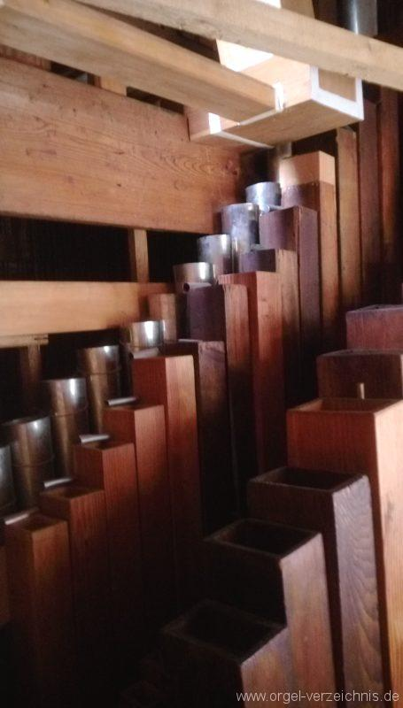 Bretten Kreuzkirche Pfeifenwerk I