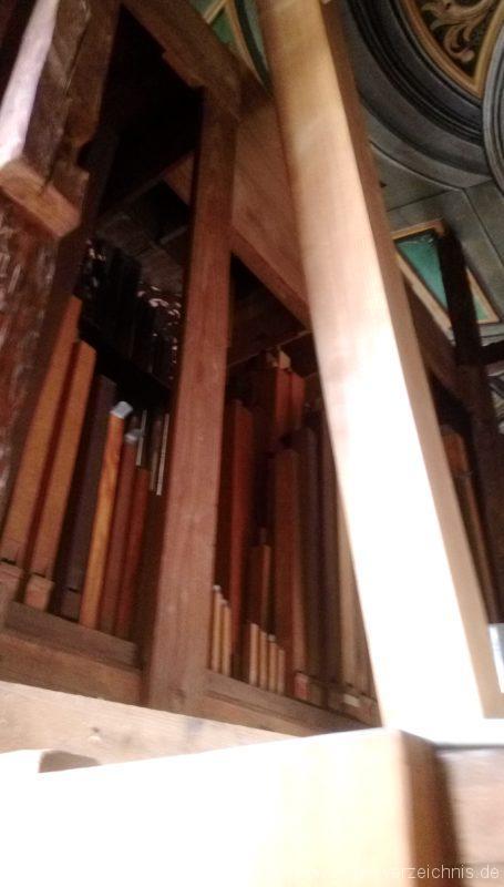 Bretten Kreuzkirche Pfeifenwerk II