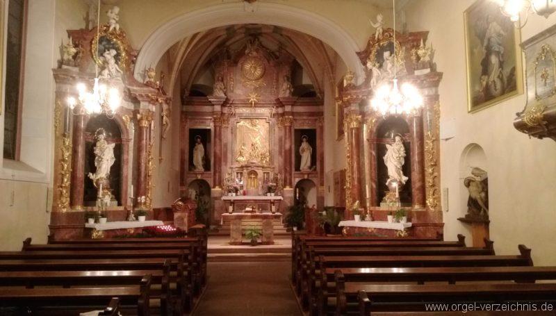 Ebringen St. Gallus und Otmar Innenansicht I