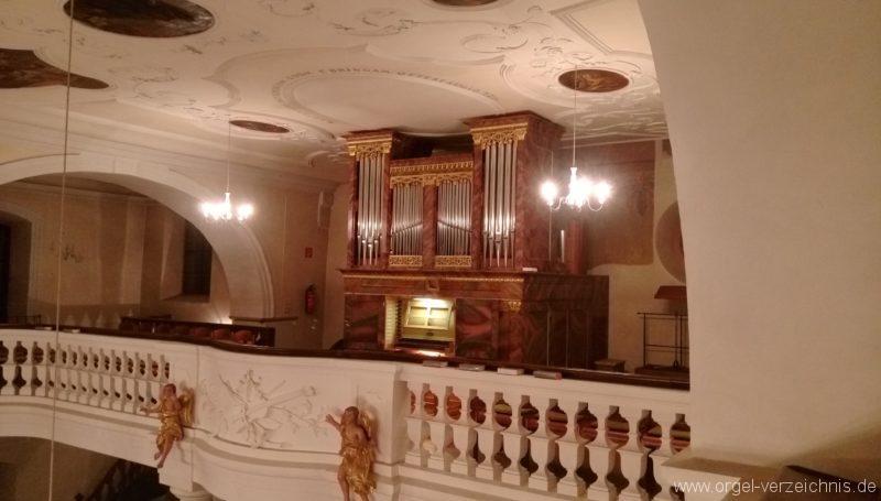 Ebringen St. Gallus und Otmar Orgelprospekt I