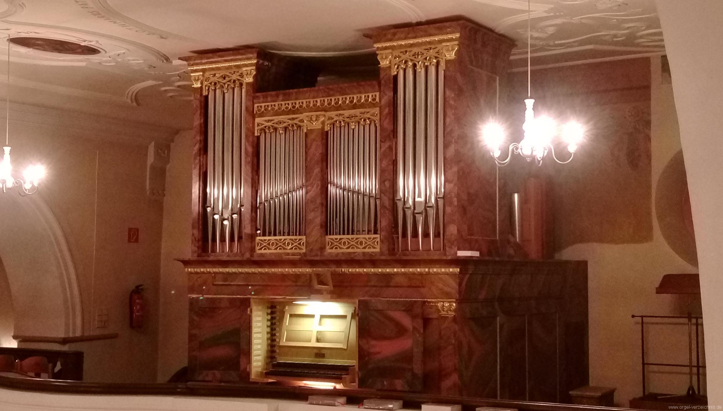 Ebringen St. Gallus und Otmar Orgelprospekt II