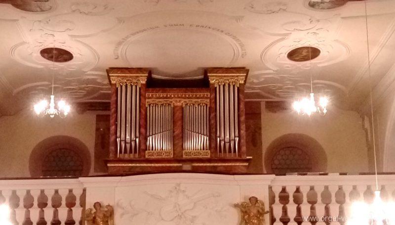 Ebringen St. Gallus und Otmar Orgelprospekt III
